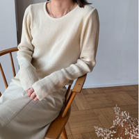 cashmere blend rib knit[TOP21SS765]