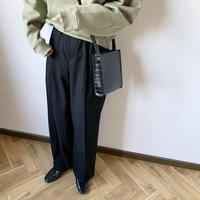 center press wide pants  [BT20AW265]