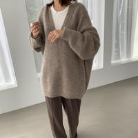 [original]  kid mohair caftan knit (3color)[TOP20AW519]