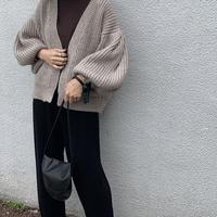 balloonsleeve knit cardigan  [TOP19AW0119]