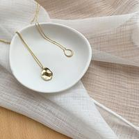silver925 nuance design necklace (2type)  [ACC20AW226]