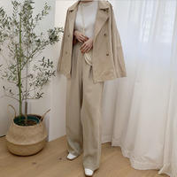 short trench jacket [OU20SS307]