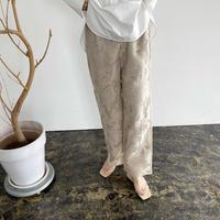 organdy flower lace  slacks pants [21SS-FL-01]