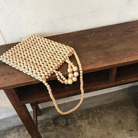 wood beads 2way bag
