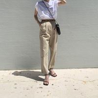 belt set chino pants