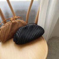 mesh leather bag (2color) [BAG20SS341]