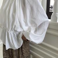 balloon sleeve gather blouse [TOP20AW461]