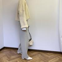 cashmere blend pocket knit  pants (3color)[BT20AW208]