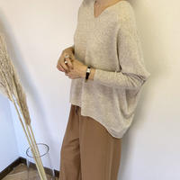 v neck colorant knit  (4color) [TOP19AW0196]