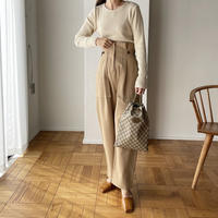 west design baker pants (3color)