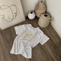 nuance print T shirt