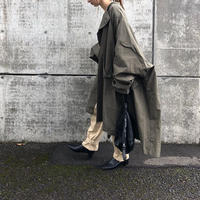 oversize military coat (3color)