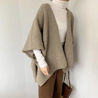 shawl knit (2color) [TOP20AW251]