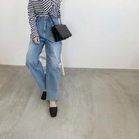 front tuck denim pants [BT20SS320]
