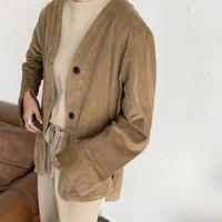 corduroy jacket [OU19AW0110]