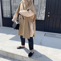 oversize trench poncho[OU20AW492]