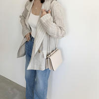 stripe linen jacket [TOP20SS297]