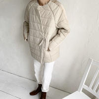 cache-coeur padding jacket (2color) [OU19AW0137]