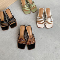 belt wedge sandal (4color) [SHO20SS358]