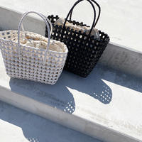 tape basket bag (2color)  [BAG20SS327]