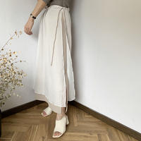layered long skirt [BT20SS400]
