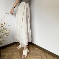 layered long skirt [BT20SS400]