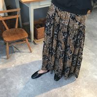 paisley maxi skirt [SK18SS-0034]