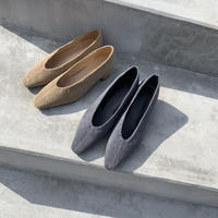 corduroy pumps (2color)  [SH19AW0143]