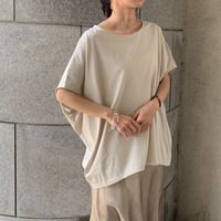 [japan made]sleeve design t-shirt (2color)