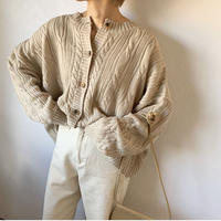 cable spring knit cardigan(2color) [TOP20AW278]