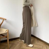 suede touch slacks pants (3color)[BT20AW489]