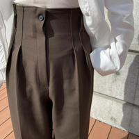 double tuck pants [BT20AW611]