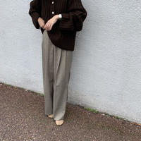 check wide pants (2color) [BT19AW0089]