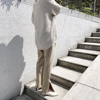 side fastener relax knit pants (2color) [BT20AW274]