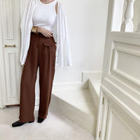 pocket design color pants (3color)[BT20AW454]