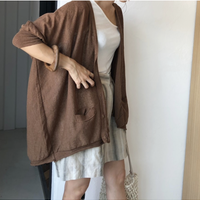 summer knit cardigan (2color)