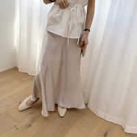 satin long skirt (2color) [BT20SS321]