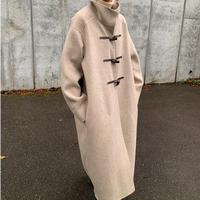 handmade wool duffle  coat (2color)[OU20AW588]