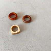 wood ring (3type)  [ACC19AW0086]