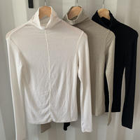 soft hi neck tops (3color) [TOP20AW253]