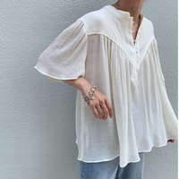 skipper flare blouse[TOP21SS728]