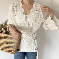 scallop lace tops [TOP20SS375]