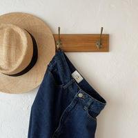 [original] organic cotton denim  pants [FLEN-08]