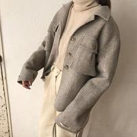 handmade check jacket