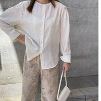 nocollar washer shirt (2color)[TOP21SS678]