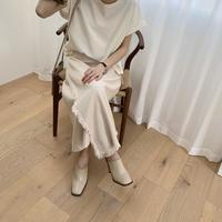 fringe wrap skirt [BT20SS323]