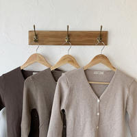 rib knit cardigan(3color) [TOP20AW480]