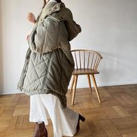 [original] reversible quilting coat (3color)
