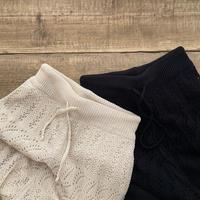 lace wide pants (2color)[BT21SS677]