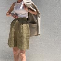 front button short pants (2color)[BT21SS729]